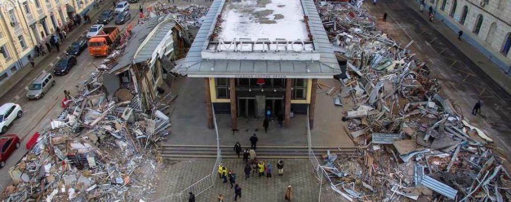 В Москве началась вторая волна сноса торговых павильонов :: Общество :: РБК