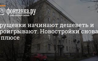 Программа реновации хрущевок начнется с Кировского района (список домов) |