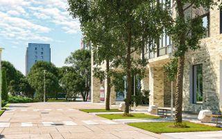 На перекрестке обновленных дорог: дом на площади Белы Куна