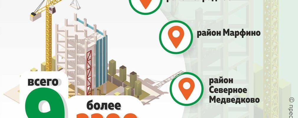 Четыре дома по программе реновации готовы к заселению в СВАО — Комплекс градостроительной политики и строительства города Москвы