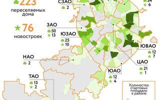 Реновация в Москве в 2020-2021 году : список домов под снос и расселение – последние новости на сегодня | РИА «Новости регионов России»