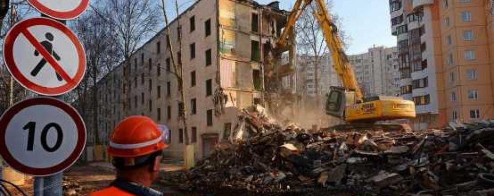 Реновация в Подмосковье: власти городских округов получили право определять дома под снос