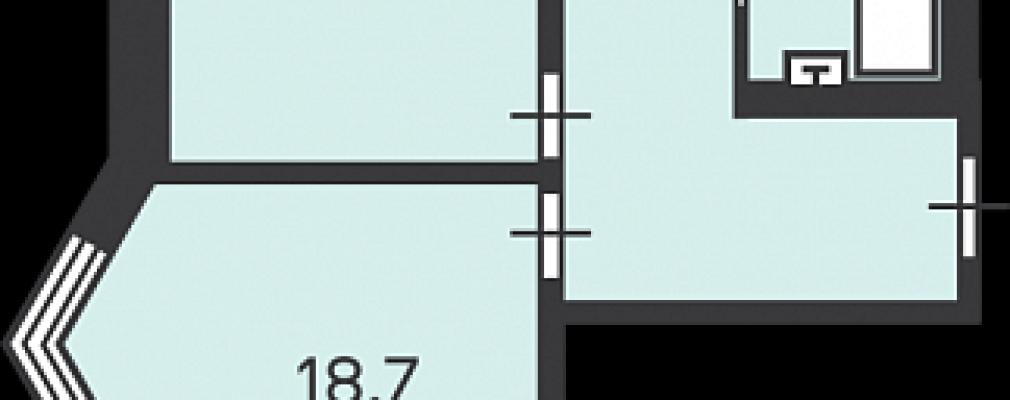 Планировки двухкомнатных квартир по реновации. Смотрим и разбираем. Удачнее ли однокомнатных – Дизайн для дома