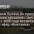 Условия расселения граждан по программе реновации застроенных территорий Санкт-Петербурга